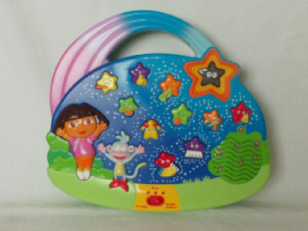 All Dora Toys : Adorable twinkling star musical learning dora the explorer